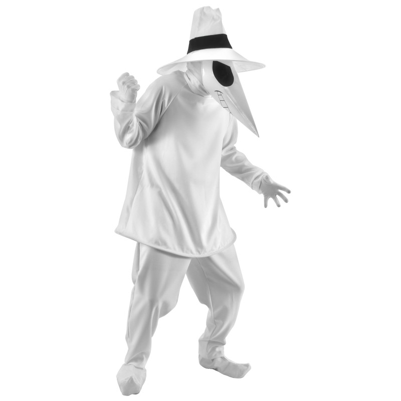 Spy Vs. Spy White Spy Adult Costume