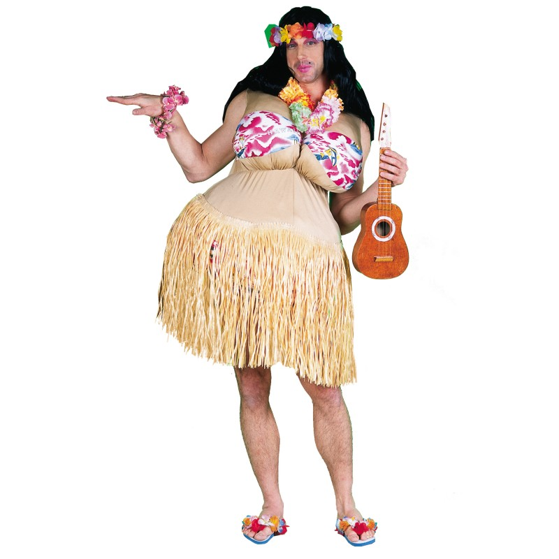 Wanna Nookie Hula Costume